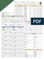 ForgedAnvil D&D 5E Character Sheet Printable v1.53 English