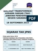 Taklimat Transformasi Asrama Harian Jabatan Pendidikan Negeri Sarawak