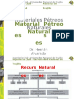 Clase 2a Materiales Pétreos Naturales 2sem 1raParte