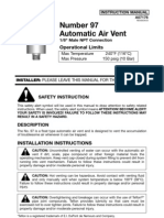 Automatic Air Vent