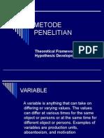 2.METODE PENELITIAN (Teori Dan Hipotesis)