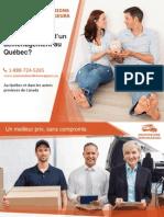 Combien coûte des déménageurs à Montréal?