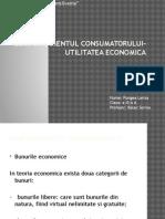 Comportamentul Consumatorului-utilitatea Economica