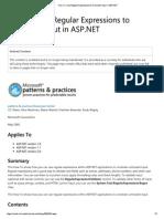 Regular Expressions in ASP.pdf