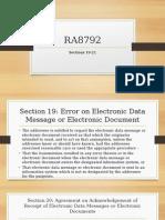 RA8792 powerpoint