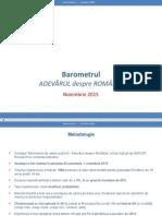 Inscop Raport Noiembrie 2015 - Agenda Publică
