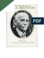 Paul Brunton - Notebook 02 Overview of Practicies Involved