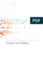 Using r and Tableau Software 1