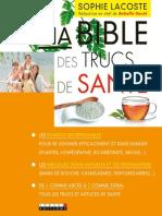 """Extrait """"Ma Bible Des Trucs de Santé"""""""