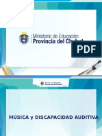 Música y Discapacidad Auditiva