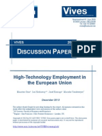 High Technology Employment Europe-KUL