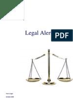 Legal Alert_October 2009
