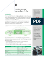 Enterprise Rent a Car Edition 12 case study