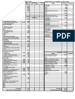 Income and Expenses Analysis Form ShortBondPaper