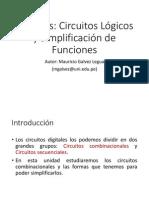 11 Circuitos Logicos y Simplificación de Funciones