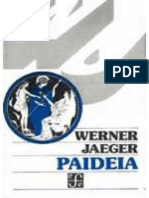 Werner Jaeger Paideia (Libro IV)