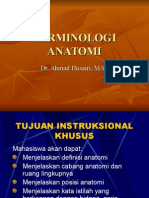 Terminologi Anatomi Dr. Husairi
