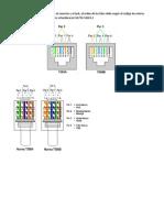 Conectores RJ45 y Cable UTP
