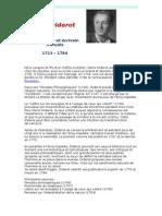 Denis Diderot biographie