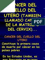 Cancer Cervico Uterino y Mamario