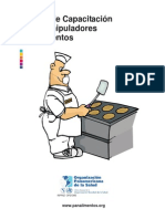 Manual Manipuladores Alimentos