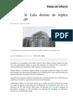 bancoop Triplex Lula Guarua Folha 8 11 15