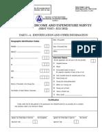 FIES 2012 Questionnaire
