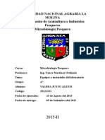 Informe 1 equipos y materiales de laboratorio