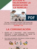 Leccion 4- Fortaleciendo La Comunicacion