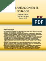 Dolarización en El Ecuador