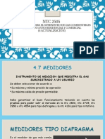 NTC 2505 MEDIDORES, SELLANTES E INSTRUCTIVO PARA INSTALAR TUBERIA