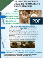 LA FAMILIA CUNDIBOYACENSE, UNA REALIDAD EN PERMANENTE...pptx