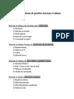 Metode Moderne de Predare Invatare Evaluare