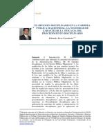 Regimen Disciplinario Sector Educacion