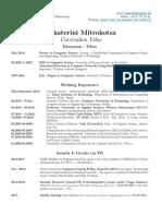 CV Mitrokotsa