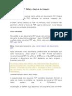 Como Editar PDF