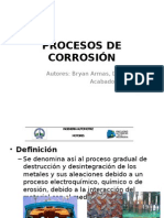 Procesos de Corrosión