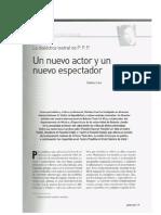 CASI STEFANO - Un Nuevo Actor y Un Nuevo Espectador