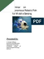 Robotic Fish1