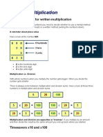 6899442 Written Multiplication