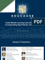 Inside Mobile Learning
