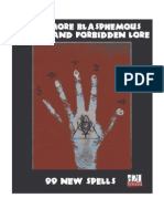 Even More Blasphemous Secrets and Forbidden Lore - 99 New Spells