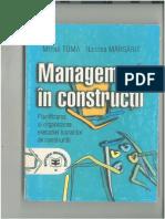 Management in Constructii - Toma - Margarit