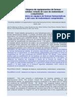 Validação de Limpeza de Equipamentos de Formas Farmacêuticas Sólidas PORTUGUES - ESPAÑOL