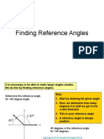 5 - Finding Reference Angles