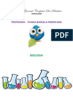 Sintesis Primer Periodo - Biologia 9