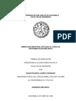 SINBOLOGÍA INDUSTRIAL APLICADA AL CURSO DE INSTRUMENTACIÓN MECÁNICA