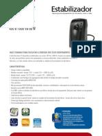 Catalogo de Estabilizador SMS Revolution VI 430 e 1000 VA (22500 110417)