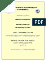 Metodología Brown Paper
