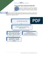 Plan Nacional de Largo Plazo Guatemala 2000-2020